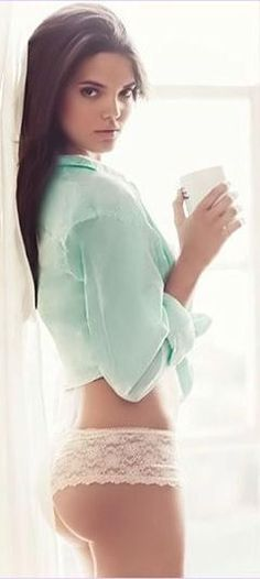 Mint + Lace ღ when I have an arse like that ill buy undies like that