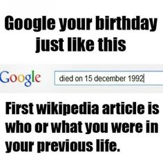 Apparently i was Paul Boesch, a wrestling promoter who died in Texas, the state I was born in. How about that.