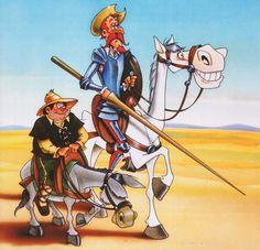 DON QUIJOTE DE LA MANCHA CARTOON    Don Quijote de la Mancha (Serie Animada)