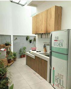 Dapur dihalaman belakang dan penuh privasi.. menyenangkan rasanya