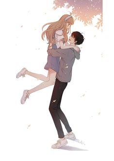 Super Ideas for drawing cute love Cute Couple Drawings, Anime Couples Drawings, Anime Couples Manga, Cute Anime Couples, Cute Drawings, Anime Love Couple, Manga Couple, Anime Cupples, Manga Kawaii