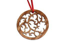 Celtic Vine Ornament by KentsKrafts on Etsy, $9.50