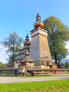 Wooden Church of St. Paraskevi in Kwiatoń, Poland - Europe