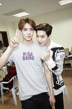 《 FY! EXO 》Sehun & Suho
