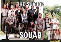 The Walking Dead's version of the Suicide Squad
