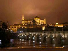 Córdoba de noche desde pasión por lo especial en Facebook