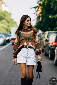 Milan fashion week street style is filled with a whole lot of fendi and prada Milan Fashion Week Street Style, Spring Street Style, Milan Fashion Weeks, Street Chic, Gala Gonzalez, Bohemian Style Clothing, Bohemian Fashion, Fashion Edgy, Cheap Fashion