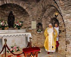 Virgin Mary's House  Ephesus Izmir Province Turkey....Mary's last place of residence!