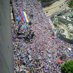Manifestación de Caracas EN VIVO Aquí