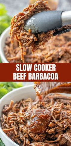 Slow Cooker Beef Bar