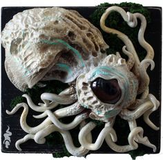 Exhibit #1    by Emi Slade #squid #octopus #art