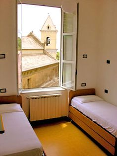 Hostel in Italy.