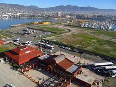 Cruise terminal in Ensenada