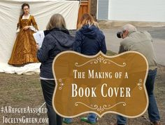 The Making of a Book Cover | JocelynGreen.com