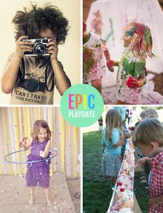 You could be part of an Epic Playdate Weekend at a camp on the beach in Santa Barbara, filled with fun and creative activities hosted by the blogger moms and dads. I'll be hosting an ice cream sundae bar for the kids, and other events include an epic paint fight, a hula-hooping workshop, a kids' photography class, and more!