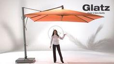 Glatz AG: Sonnenschirme Detailansicht für Sonnenschirme