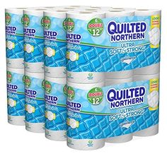 Quilted Northern Ultra Soft and Strong Bath Tissue 48 Double Rolls