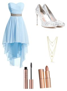 """""""Prom"""" by dancer12222 on Polyvore featuring Miu Miu and Charlotte Tilbury"""