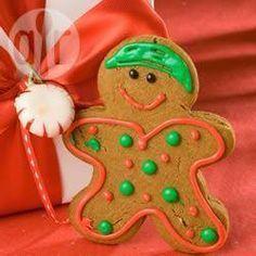 Gingerbread  (bonequinhos de gengibre) @ allrecipes.com.br