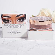 Loose translucent setting powder | Makeupbyjanaya Setting Powder, Makeup Kit, Place Card Holders
