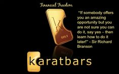 Become a karatbars member and receive multiple ways to get paid. Its free to set up an account and theres multiple ways to earn money. Go to http://www.karatbarsusa.weebly.com and get started now. #FinancialFreedom #GoforGOLD #FREEDOM