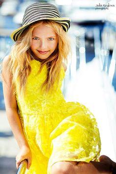 Karina Egorova (born August 13, 2006) Russian child model. Yulia Krylova Photography.