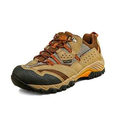 Clorts Mens Outdoor Waterproof Brown Suede Mesh Hiking Shoes US8 >>> Click image to review more details.(This is an Amazon affiliate link and I receive a commission for the sales)