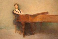 The Piano by Thomas Dewing by Alaskan Dude, via Flickr