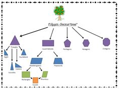 graphic organizer classifying polygons - Google Search