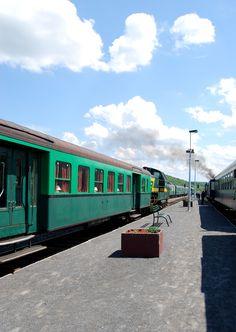 Trainstation in Ardennes Belgium by Cynthia van Vroenhoven