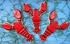 Lobster Cookies Tutorial