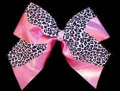 its not competitive cheerleading, without BIG bows!! (: