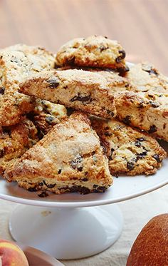 CHOCOLATE HAZLENUT SCONES
