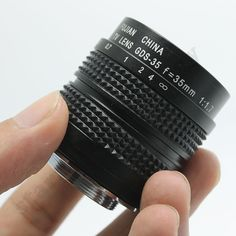 Fujian 35mm f1.7 C Mount CCTV Len for GH1 GF1 NEX 3 5 E mount black in box  #UnbrandedGeneric