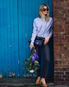 See How These 2 Bloggers Style The Coolest Shirt Trend Now