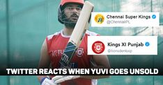 Twitter In Disbelief As Yuvraj Singh Goes Unsold In First Round Yuvraj Singh, Chennai Super Kings, First Round, Day Wishes, Twitter