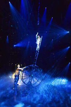"The Beatles ""Love"" Show-Cirque du Soleil. Saw it in Vegas! So brilliant"