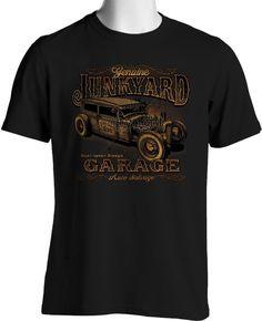 Rat Rod T-shirt Vintage Hot Rod Junk Yard Rusty Auto Parts S to 3XL Big & Tall #PitStopShirtShop #GraphicTee