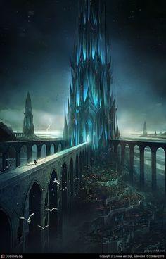 Зерцалия Наследники обсидиановый замок