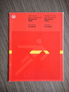 Football Results from the 1976 Olympics in Montreal from Art Director Antonio's collection 1976 Olympics, Olympic Football, Football Results, Summer Games, Mad Men, Art Deco Fashion, Graphic Design, History, Art Director