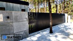Iron Fence Gate, Pardee Homes, Privacy Fence Designs, Black Fence, Front Fence, Water Walls, Modern Fence, Outdoor Living, Outdoor Decor