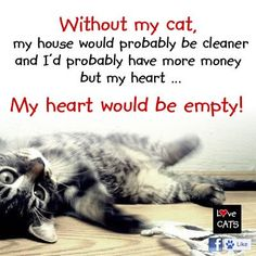 My heart would be broken and empty...