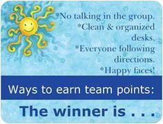 Vistaprint - Team Points magnet