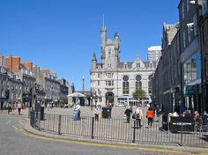 Exploring Aberdeen - Bringing Out In The Open 'The City Of The Blossom Bloom'! Aberdeen, Photo Credit, Places To Travel, Bring It On, Louvre, Bloom, Street View, Explore, City