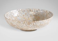 Ivory Mother-of-Pearl Bowl - Ethan Allen