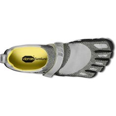 50c94efd85d32 Vibram FiveFingers Bikila Shoes in Silver Black - Footwear - MelMorgan  Sports