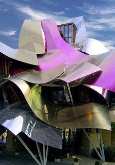 Hotel Marqués de Riscal, El Ciego, Spain, Frank | http://architecturephotocollections.blogspot.com