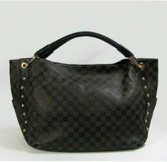 Louis Vuitton Handbags,Best Louis Vuitton Damier Cow Leather Shoulder Bags Black M95711-$