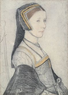 Anne Cresacre by Hans Holbein
