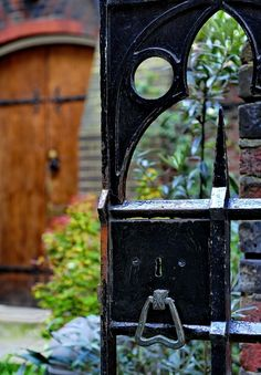 Church Garden Gate  if i were to go with the spirit>letter